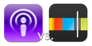 Podcasts App vs. Stitcher