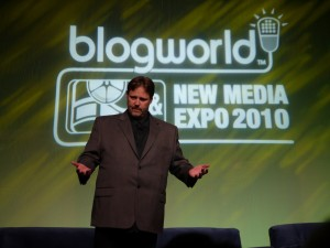 RIck Calvert at New Media Expo 2010