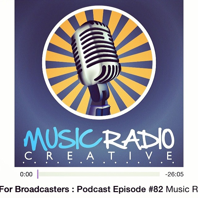 Podcast Ep of the day: Nice one @themikerussell & @musicradiocreative #apple #podcast #radio :)