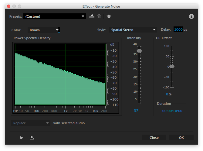 how to get rid of white noise in adobe audition
