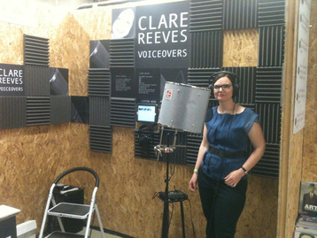 Clare Reeves at the Makegood Festival in London