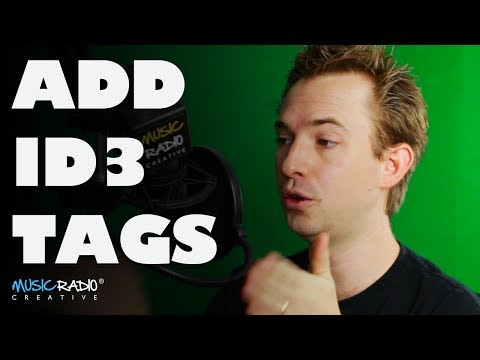Adding Metadata & ID3 Tags To Podcasts In Adobe Audition CC