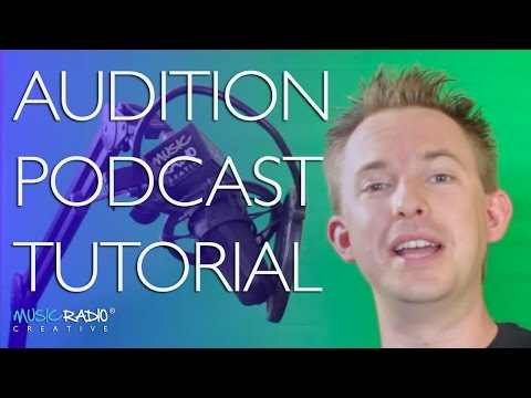 Adobe Audition CC Podcast Workflow