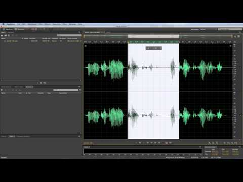 Adobe Audition CC Skip Selection Tool (For Quick Edits)