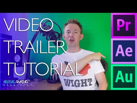 Adobe Video Trailer Production Workflow