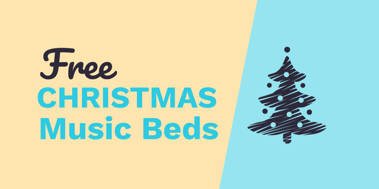 Free Christmas Music Beds