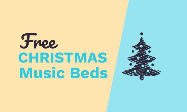 Free Christmas Music Beds