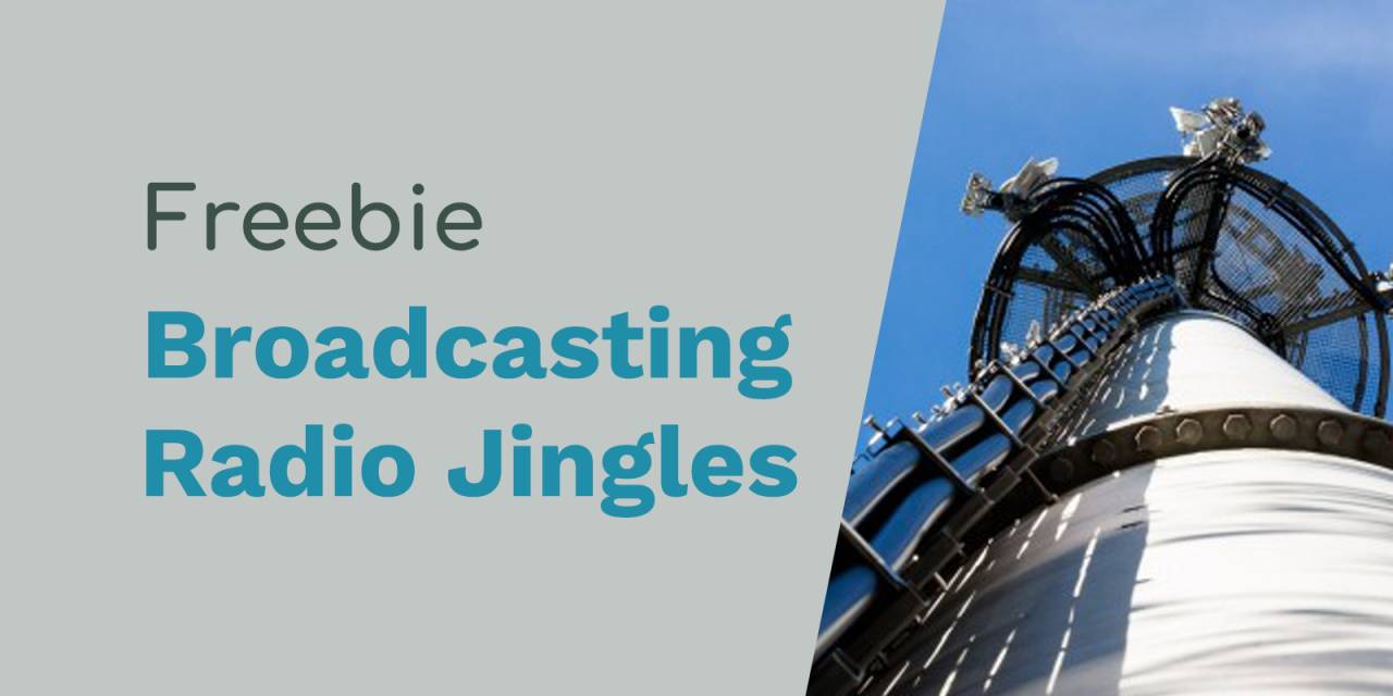 "Free Radio Jingles: ""Broadcasting Live"""