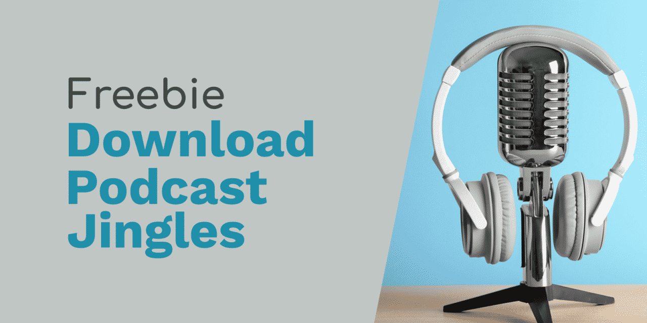 "Free Podcast Jingles: ""Download now"" and ""Thank You"""