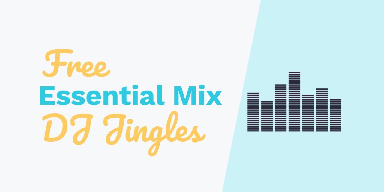 "Free DJ Drops: ""Live In The Mix"" and ""Essential Mix"""