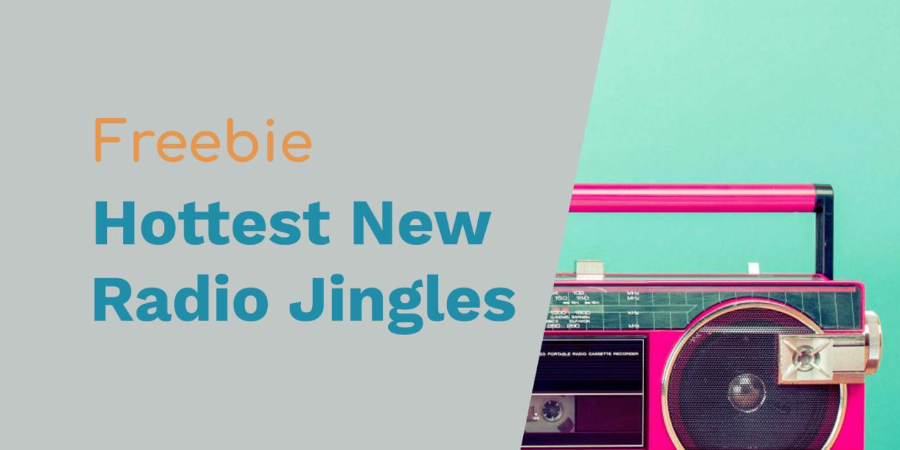 "Free Radio Jingles: ""Hottest Best New Music"" Radio Sweepers"