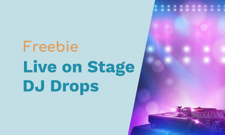 "Free DJ Drops: ""Live On Stage"" and ""Are You Ready?"""