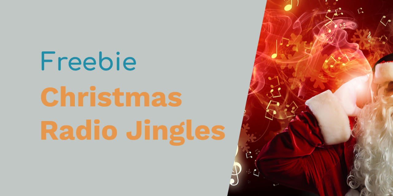 Free Radio Jingles: Merry Christmas