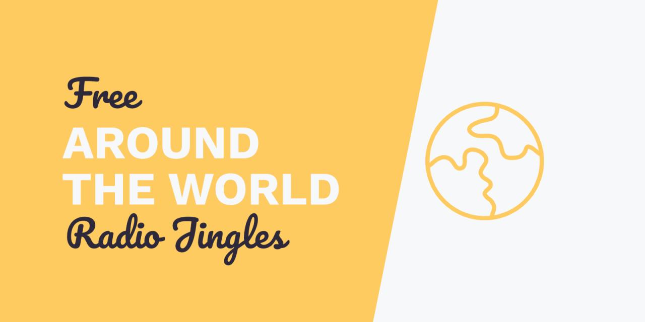 Free Radio Jingles: Around The World Instant Download