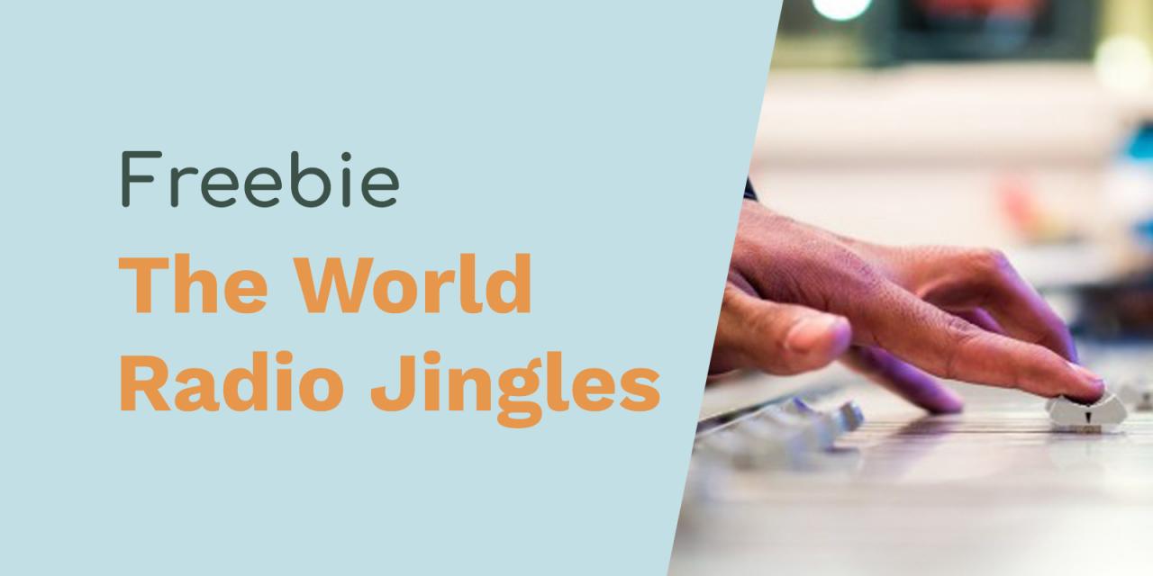 Free Radio Jingles: Around The World