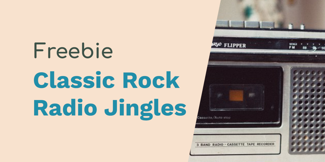 Classic Rock & Golden Oldies Radio Jingles