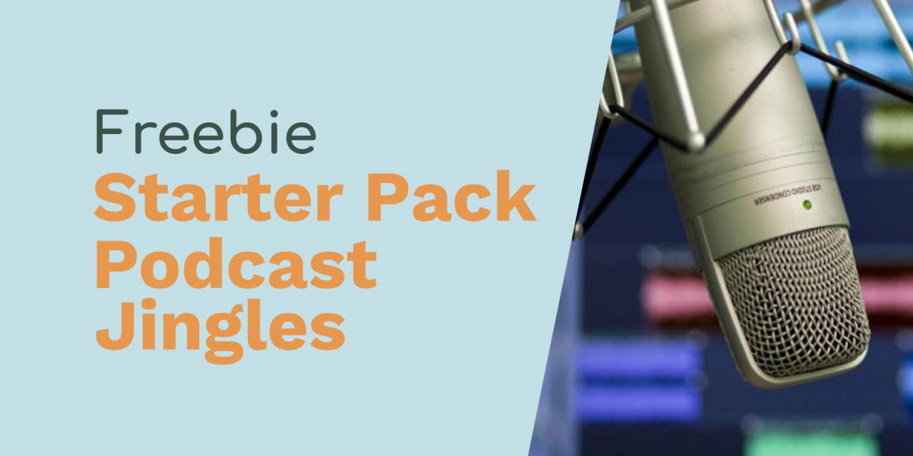 Free Podcast Starter Jingles Pack