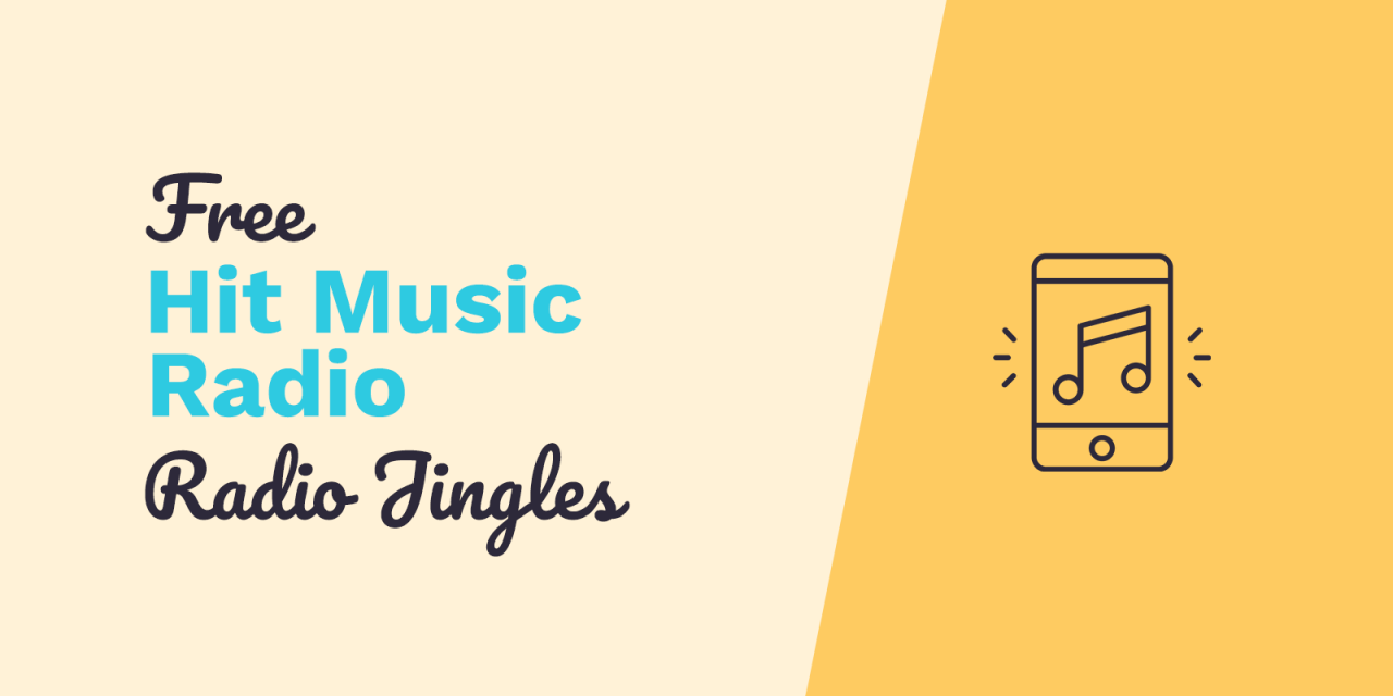 Free Radio Sweepers: Hit Music Radio Jingles