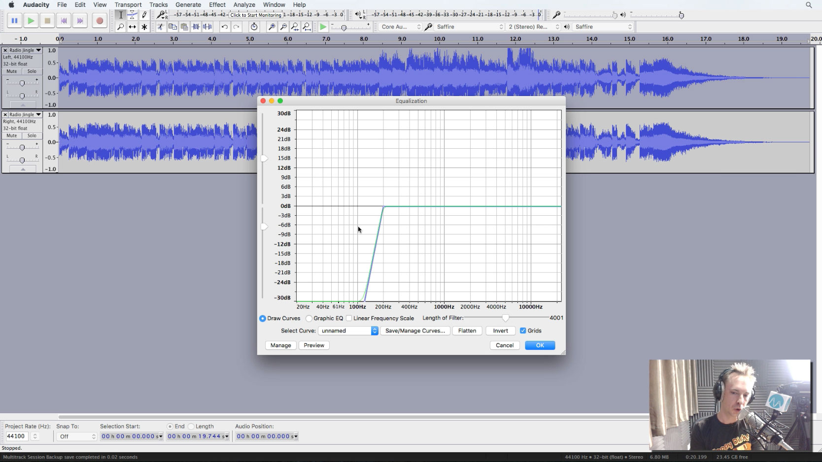 how to remove echo in audacity
