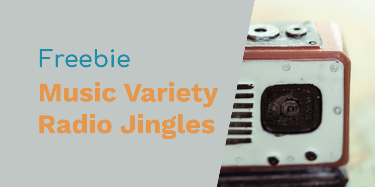 Free Radio Jingles – More Music Variety