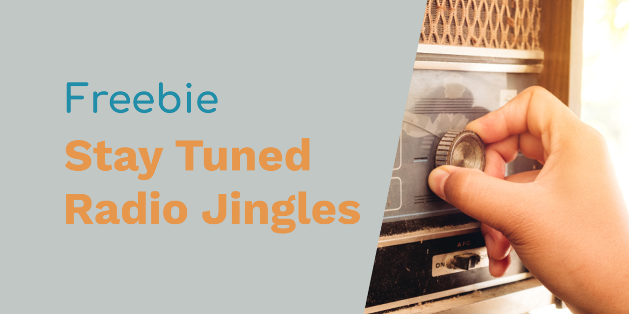 Free Radio Jingles: Stay Tuned