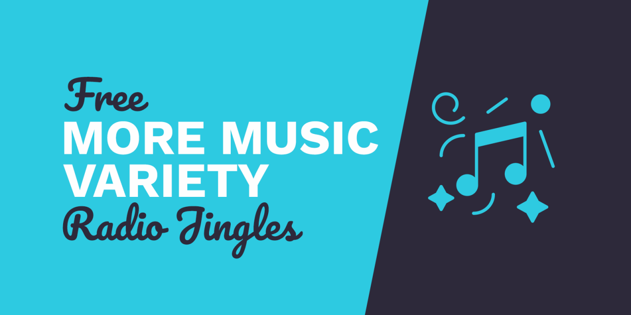 Free Radio Jingles - More Music Variety - mp3 Download