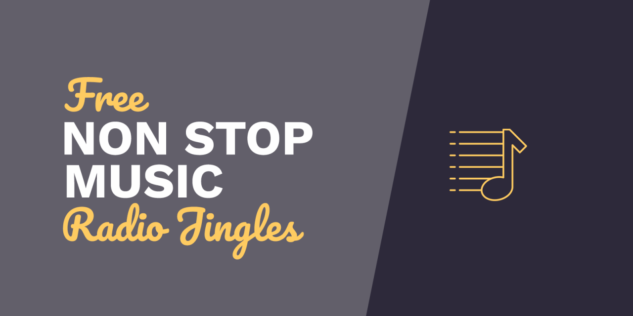 Free Radio Jingles: Non Stop Music mp3 Download