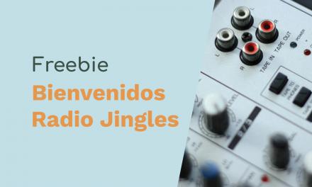 Free Radio Jingles – Bienvenidos