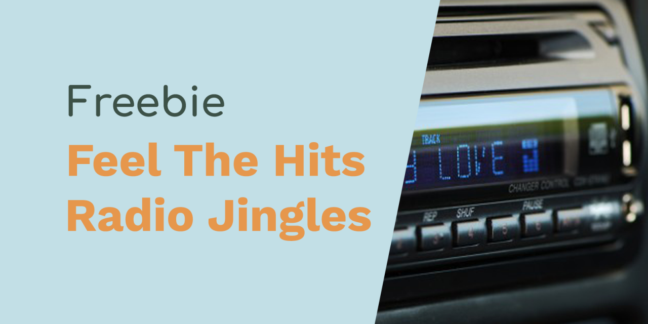Feel The Hits Radio Jingles