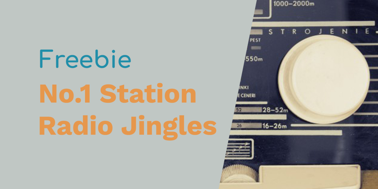 Free Radio Jingles – Your No 1 Station In Town