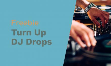 Turn Up The Volume DJ Drops