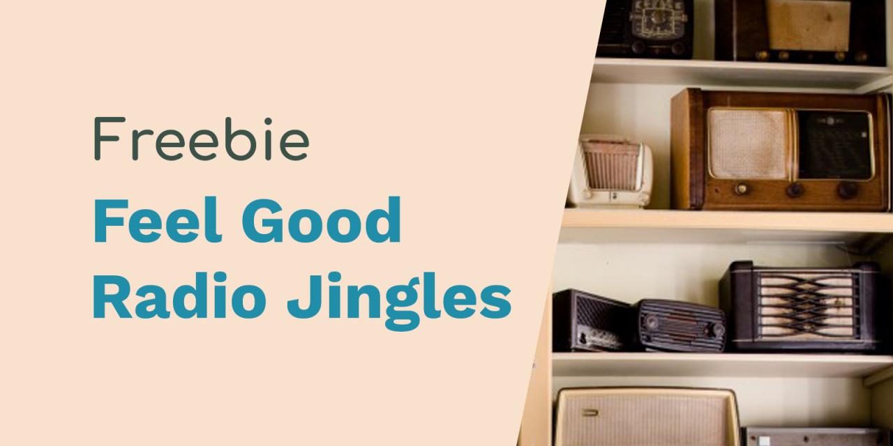 Feel Good Hits Radio Jingles