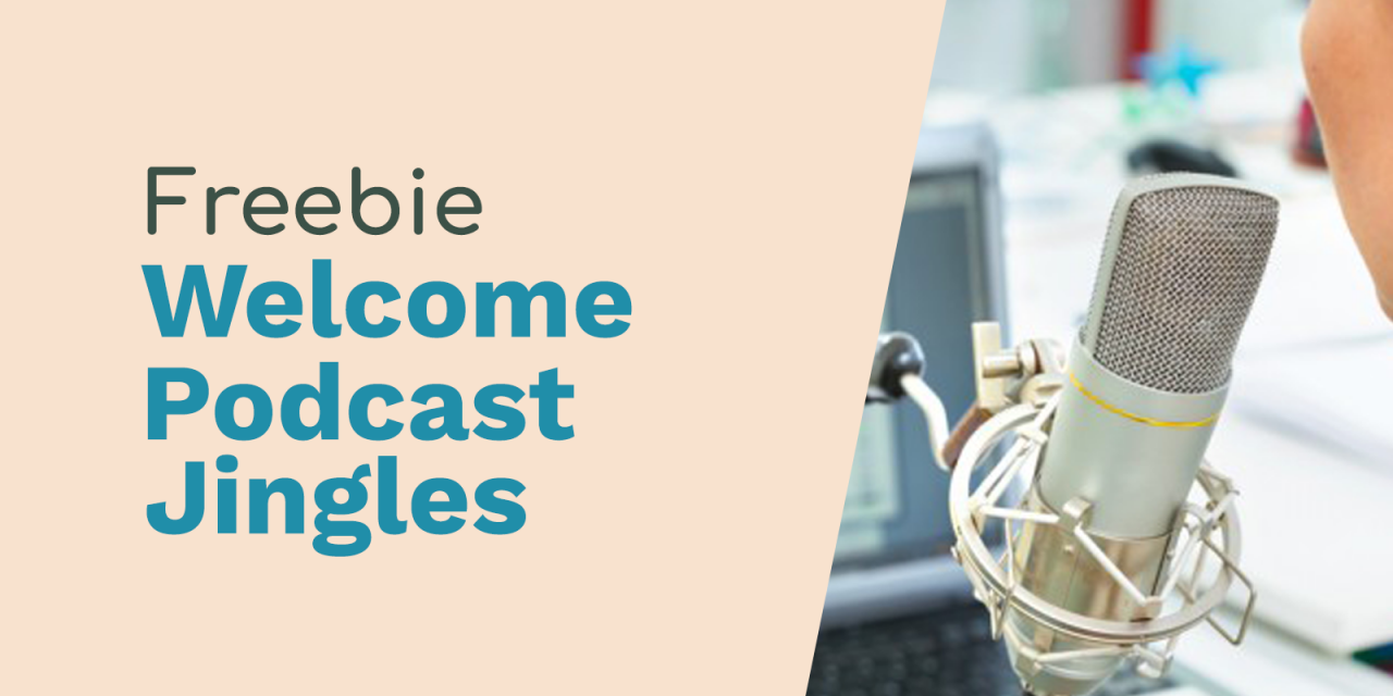 Free Podcast Intros – Welcome, This is