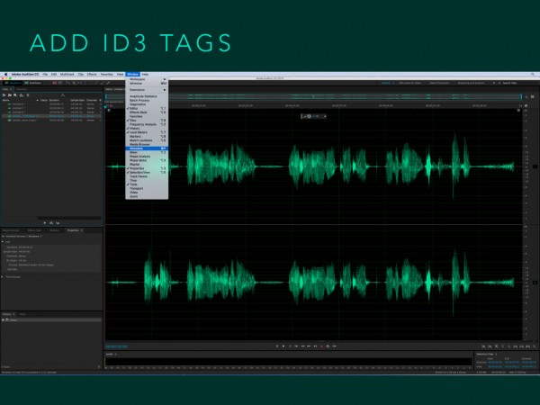 Podcasting Adobe Audition Workshop.062