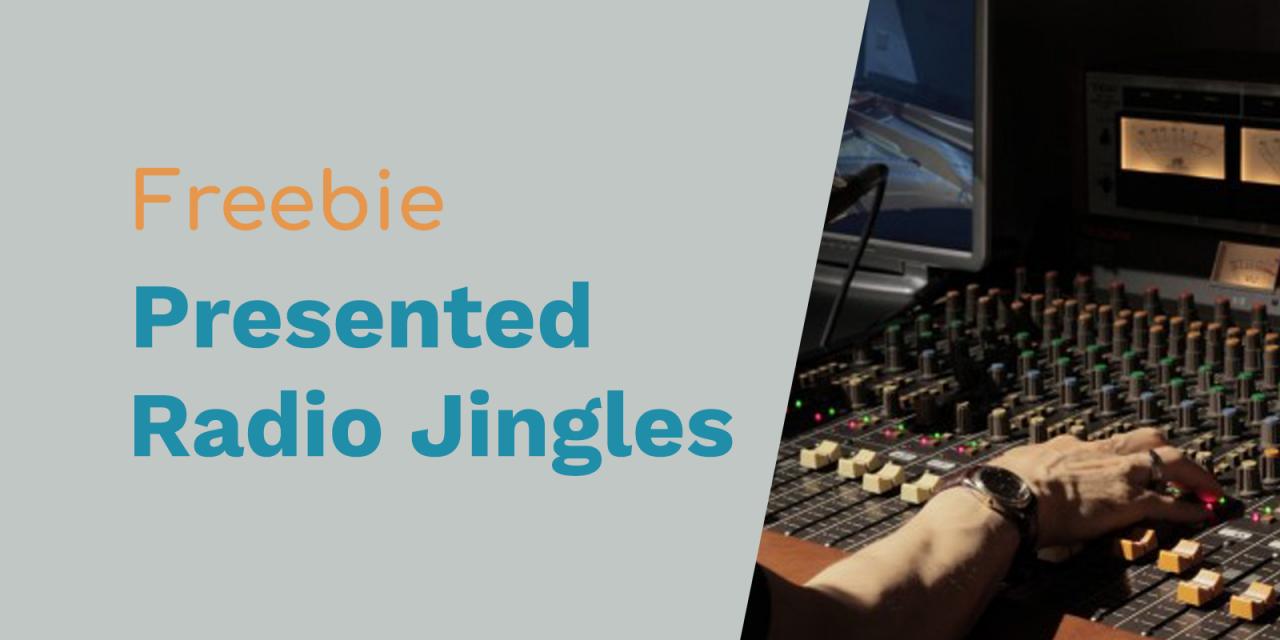 Presented To You Radio Jingles