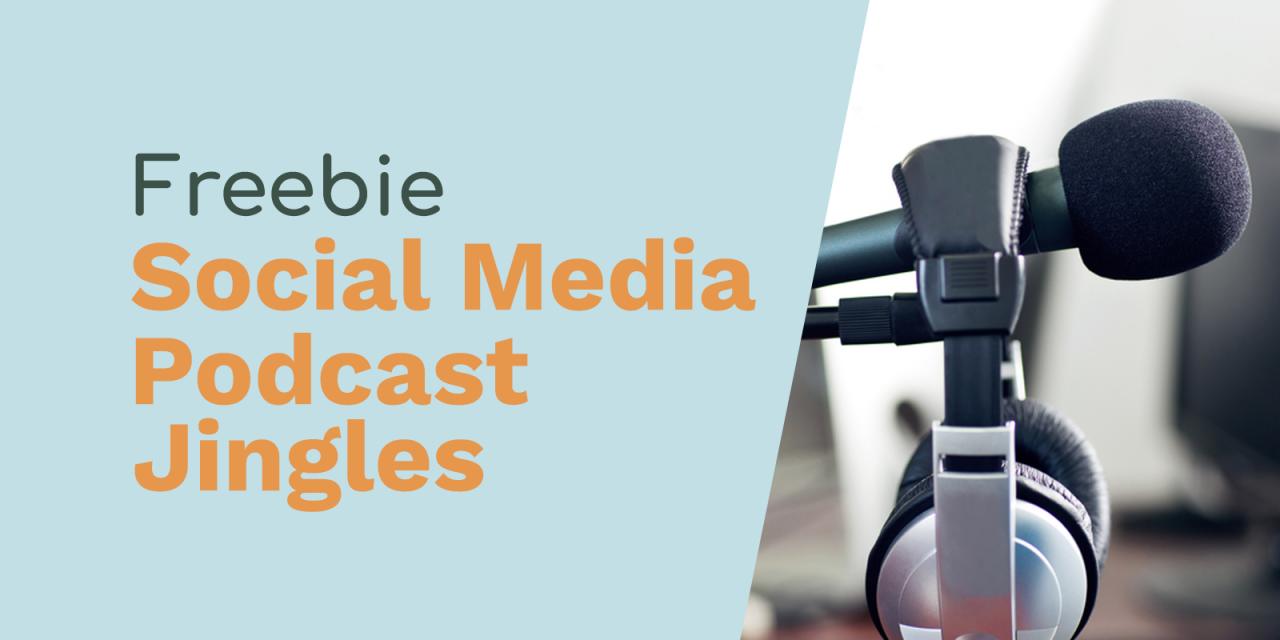 Follow Us On Social Media Podcast Jingles