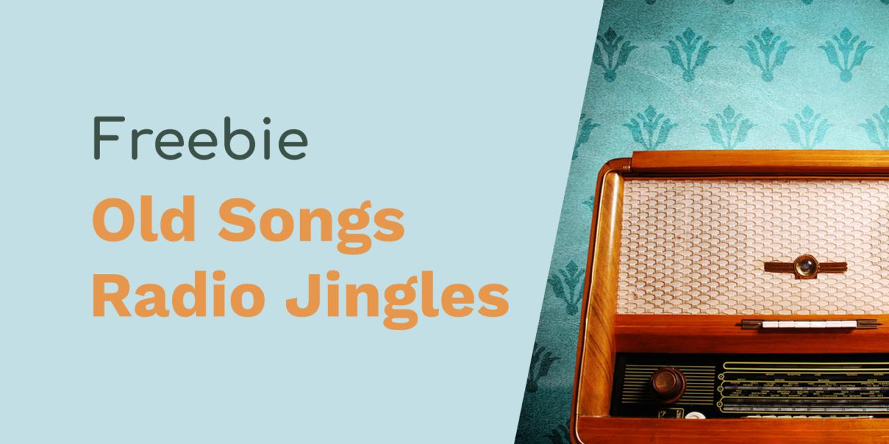 Long Forgotten Songs Radio Jingles