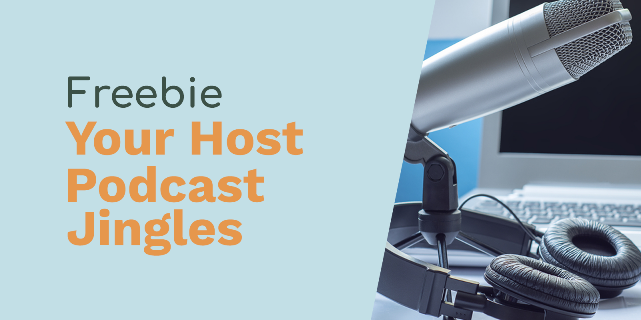 """Free Podcast Intros """"With Your Host"""""""