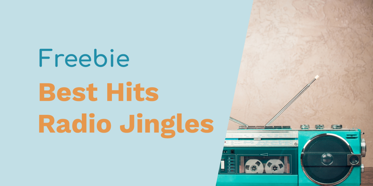 Playing Only The Best Hits Free Jingles