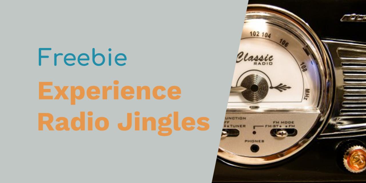 Best Music Experience Radio Jingles