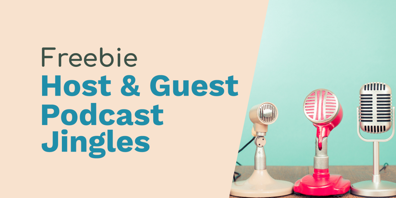 Host and Guest Podcast Jingles