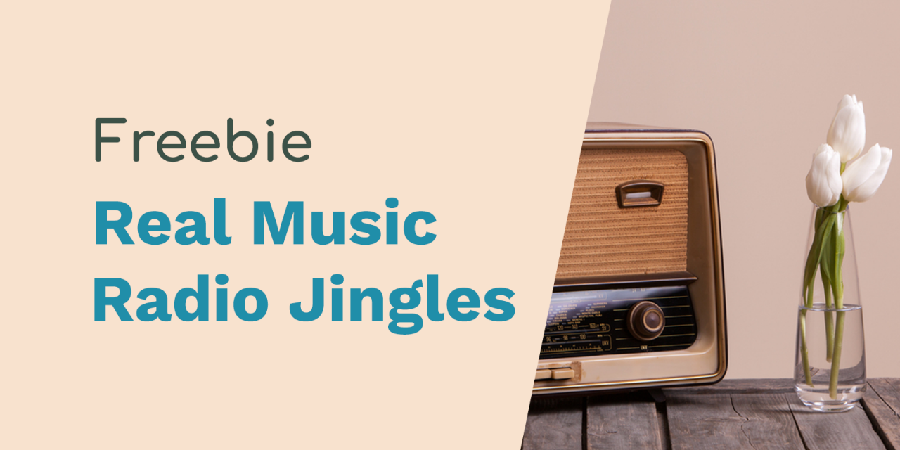 Free Jingles for The Home of Real Music