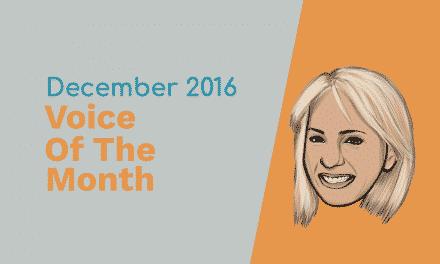 December 2016 – Voice Of The Month – Jill Kenton