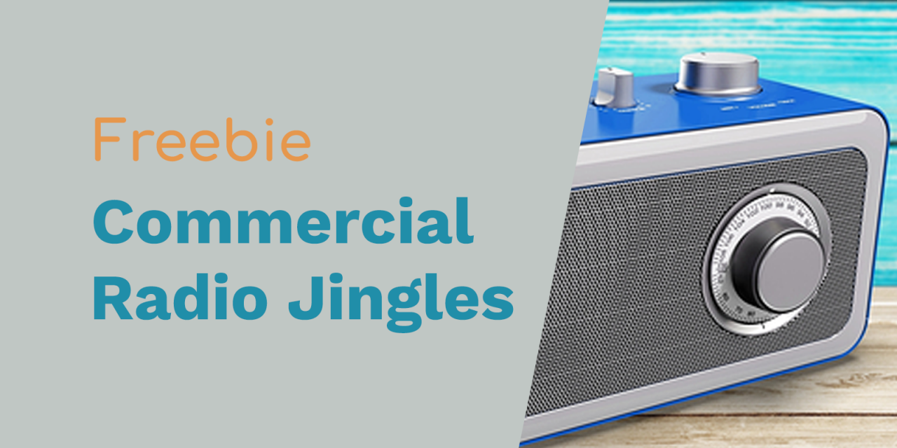 Radio Jingles for Commercial Free Radio