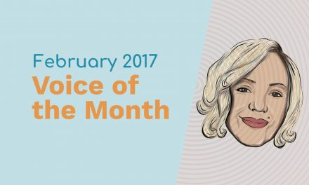 February 2017 – Voice Of The Month – Rebecca Haugh
