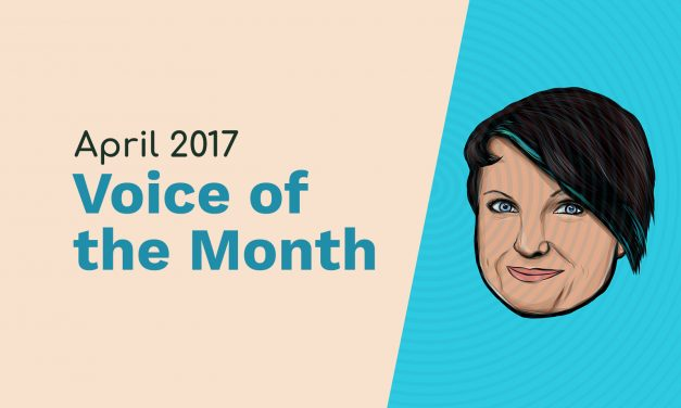 April 2017 – Voice of the Month – Clare Reeves