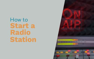 How to Start a Radio Station