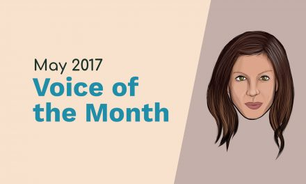 May 2017 – Voice of the Month – Penny Andrews