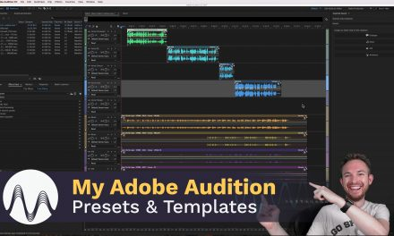My Adobe Audition Presets & Templates