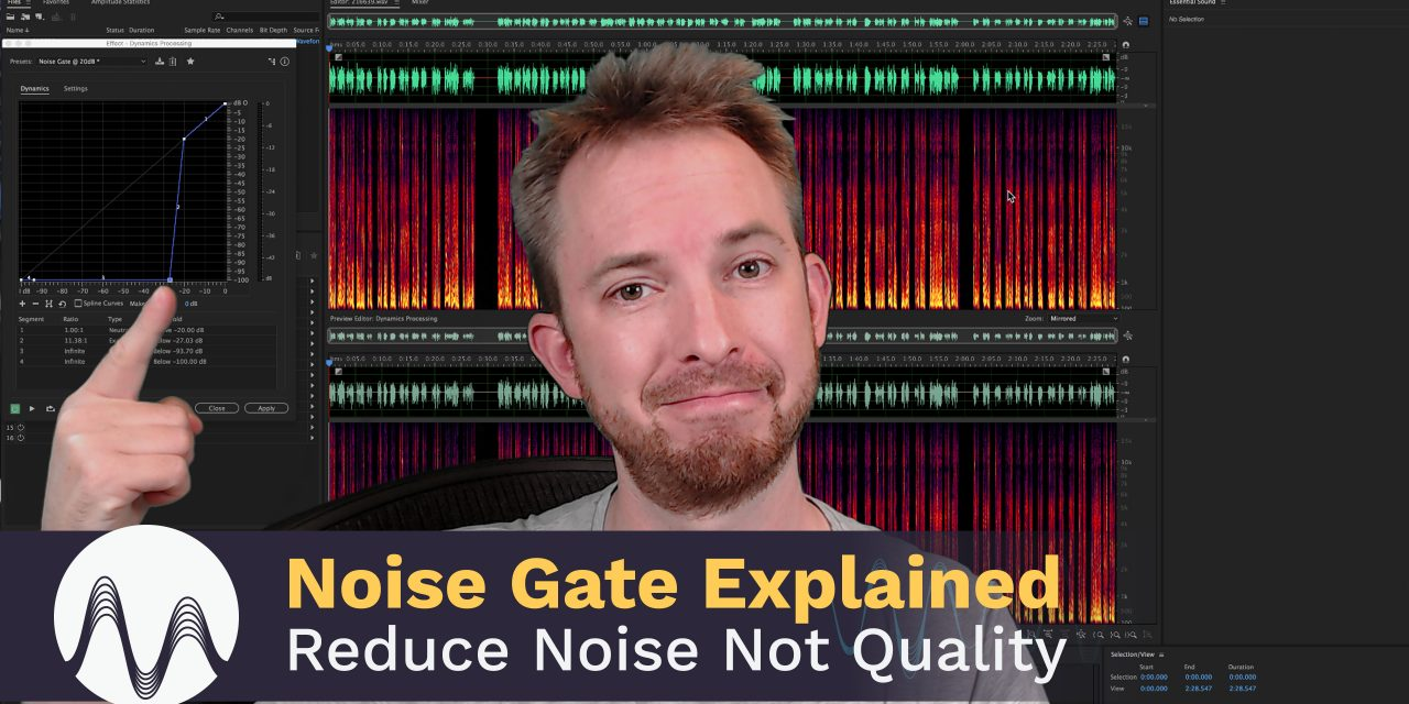 Noise Gate Explained – Reduce Noise Not Quality